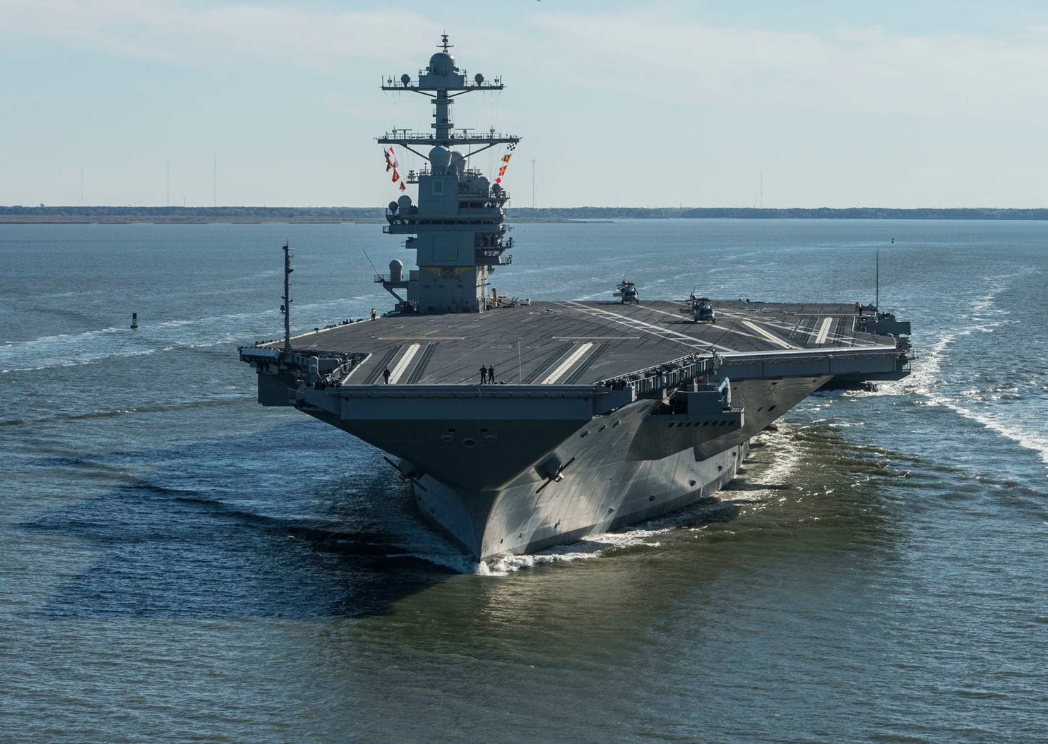 The coming era of U.S. security policy will be dominated by the Navy