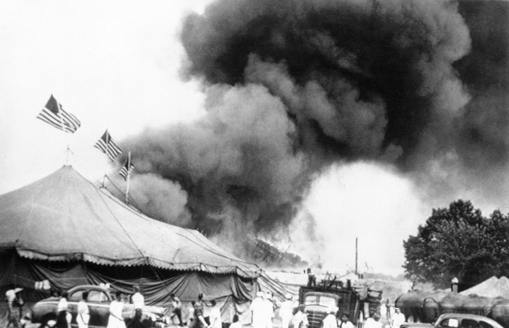 2 Victims Of 1944 Circus Fire Exhumed In ID Attempt