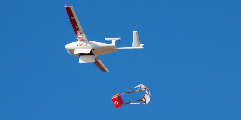 Will Blood-Bearing Delivery Drones Transform Disaster Relief and Battlefield Medicine?