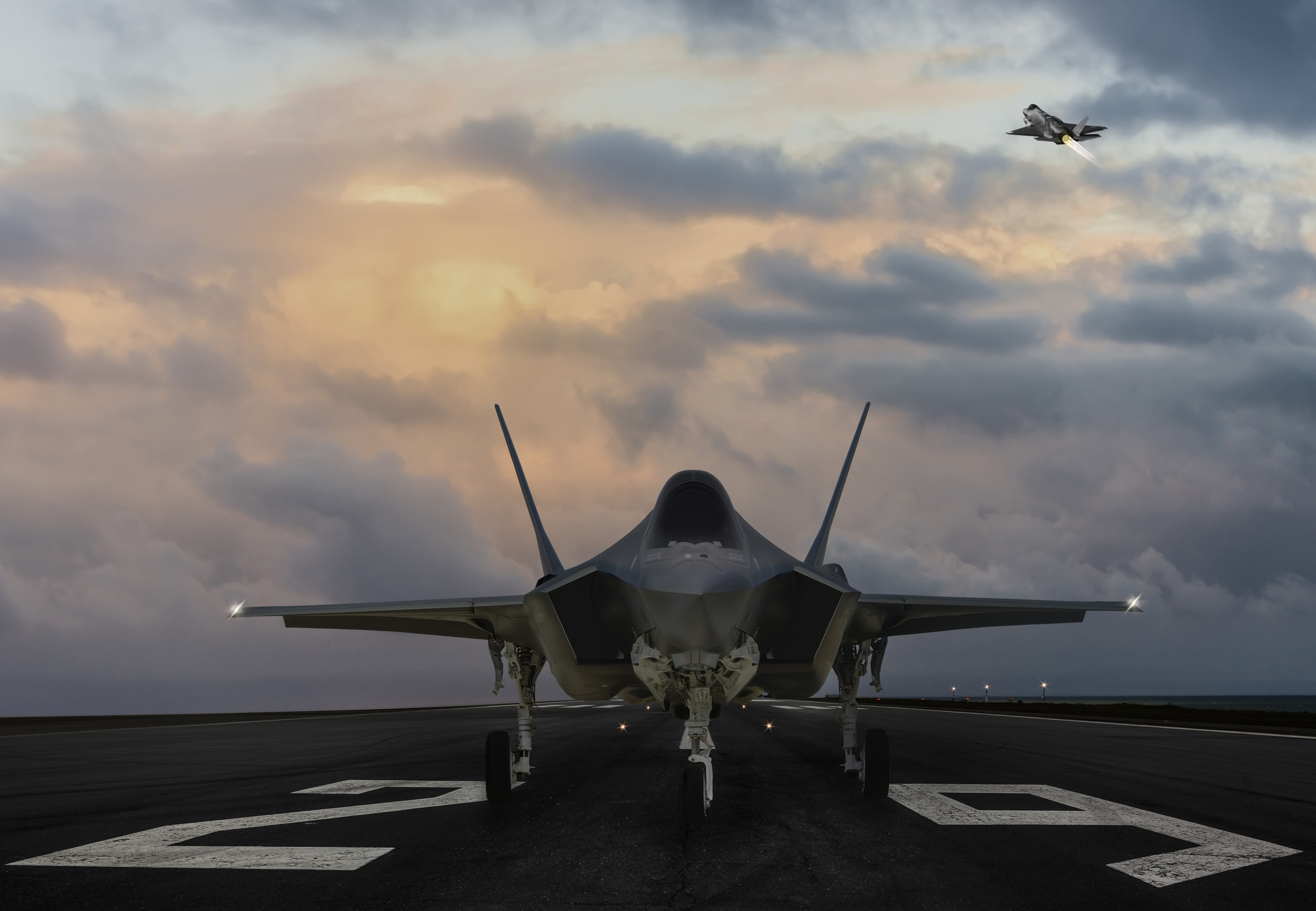 Esper: F-35 Won't Hit 80% Readiness, Cites Stealth Parts