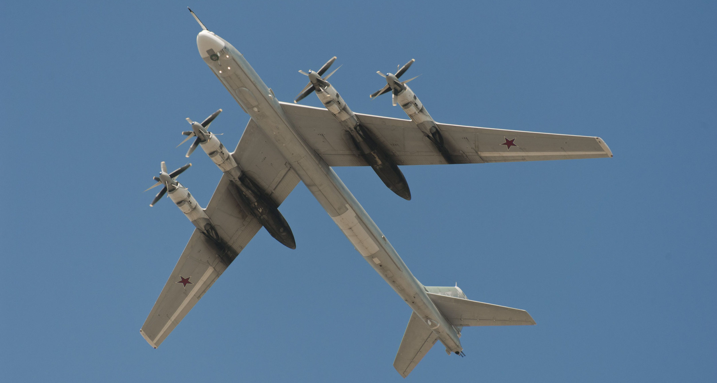 US, Canadian fighters intercept Russian bombers off Alaskan coast
