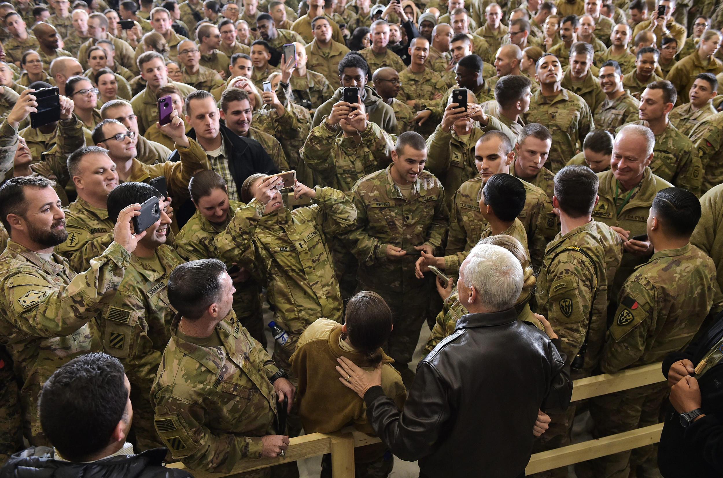 Major U.S. Troop Drawdowns Expected In Afghanistan After Firing Of Defense Secretary