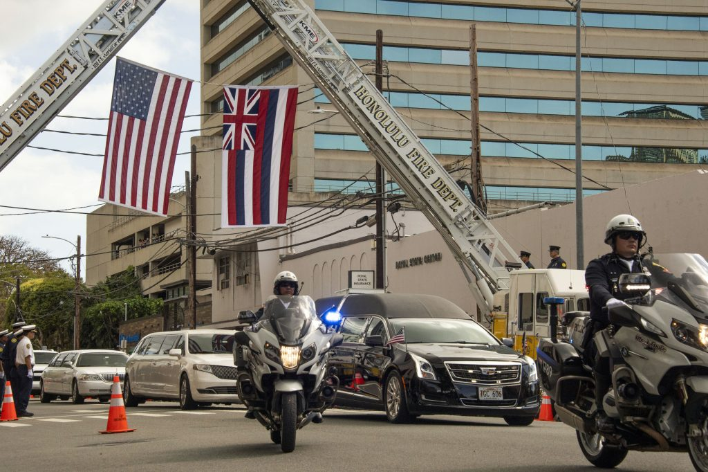 Slain Honolulu Officer Honored By Colleagues And Community