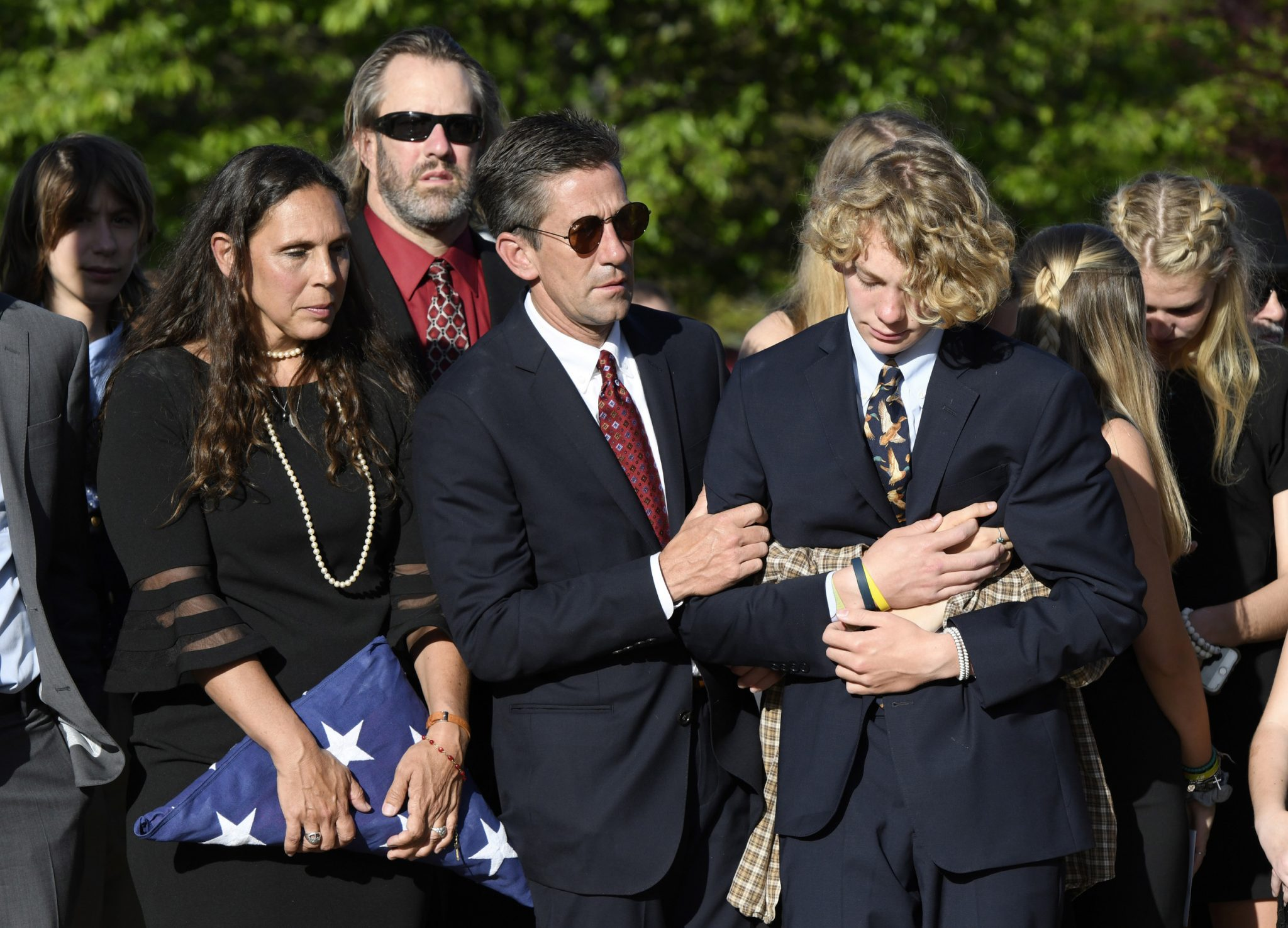 Student who charged a campus gunman remembered as a hero