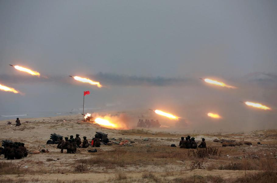 North Korea's Artillery Could Inflict 200,000 Casualties In Just One Hour