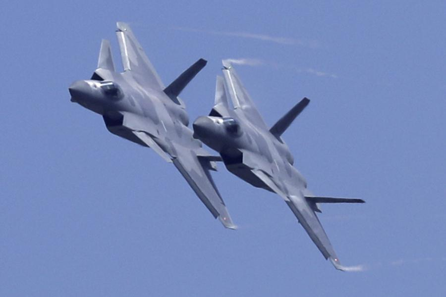 China Has Doubled Its Fighter Jets On India's Border