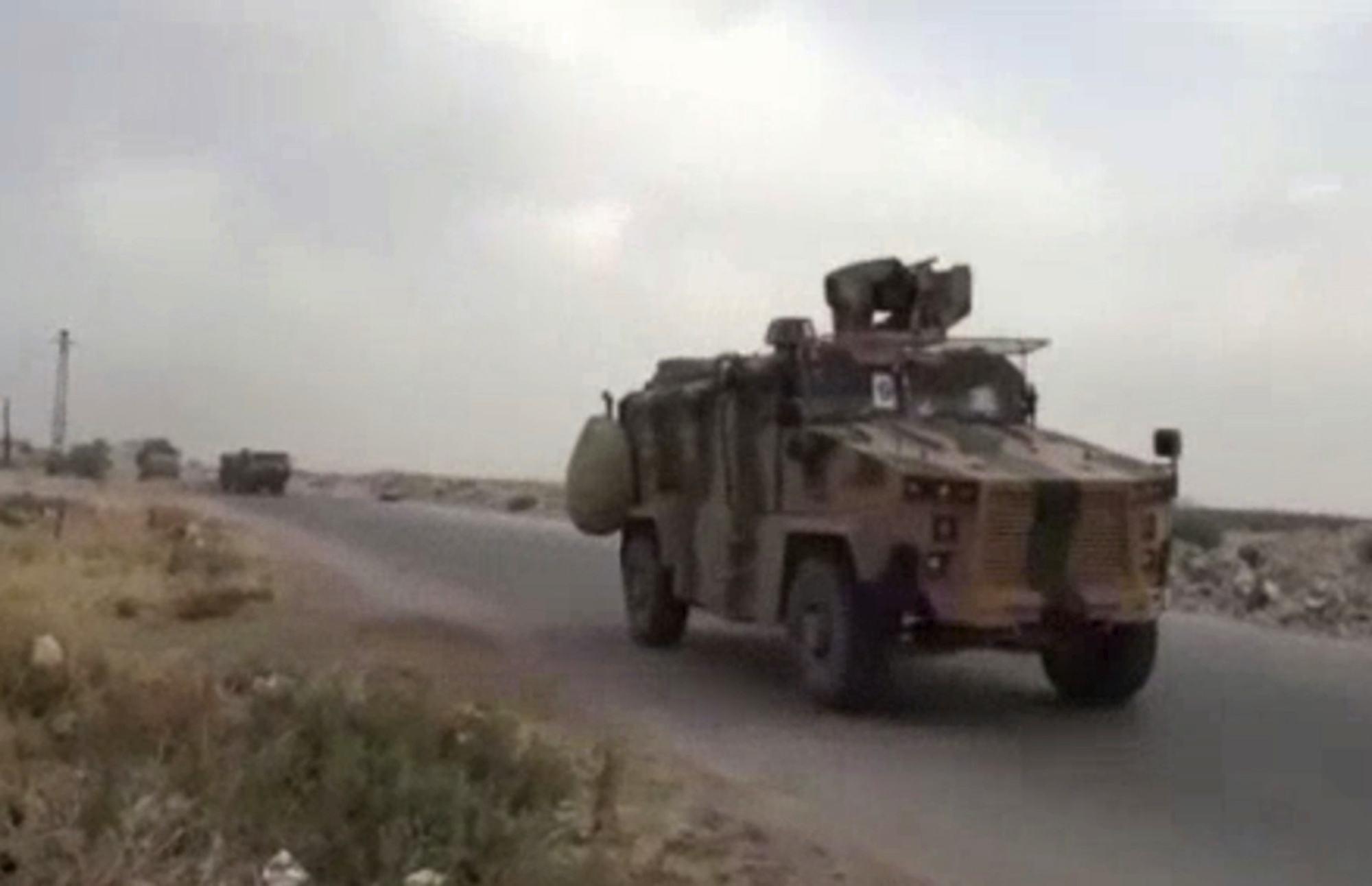 The Latest: Turkey Reinforces Security Posts In North Syria