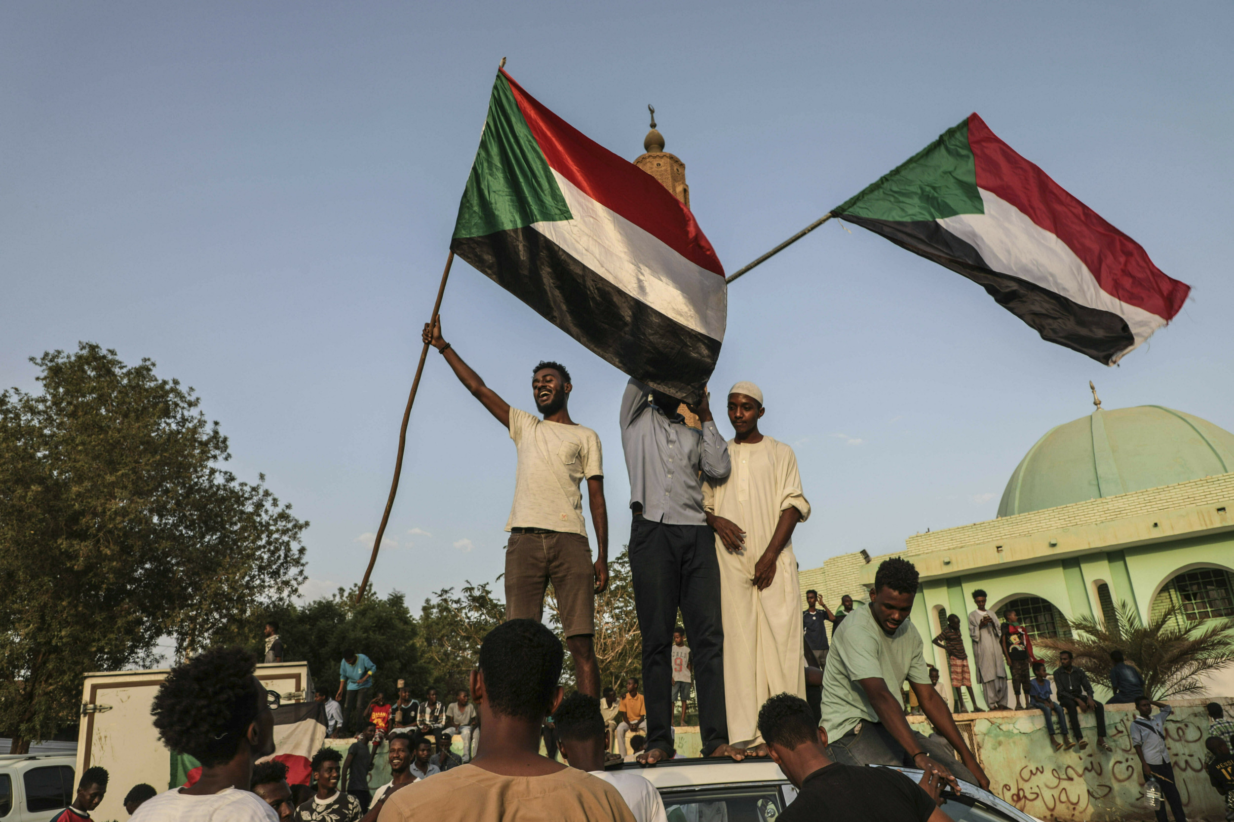 Sudanese say US pressure was key to reaching transition deal