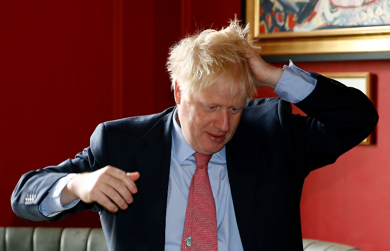 Boris Johnson Says He's Not To Blame For Ambassador's Ouster