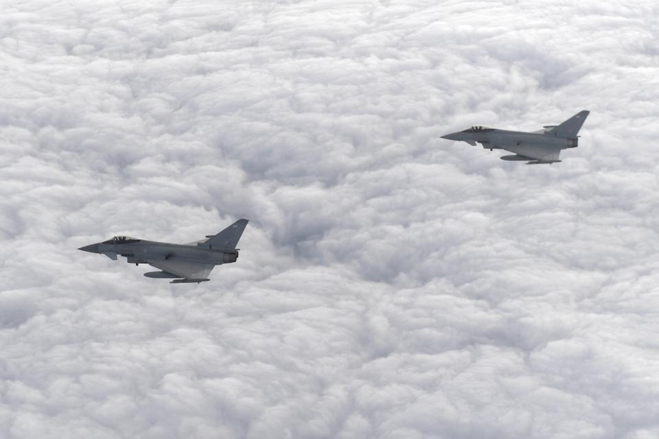 Panic As Airforce Intercepts U.K. Flight After Passenger Sparks Terrorism Hijack Fear