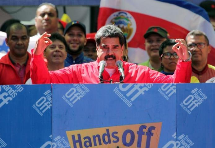 In Venezuela, Maduro Has No Choice But To Resist Trump