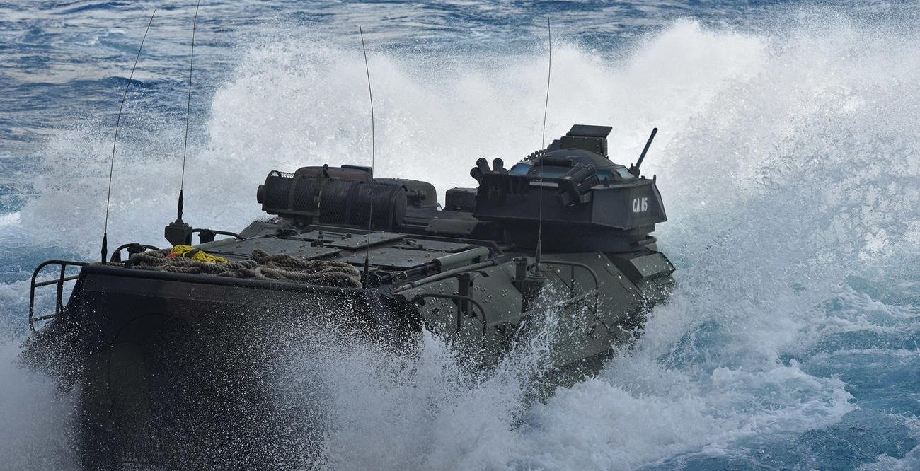 1 Marine Dead, 8 More Missing After AAV Accident Off California Coast
