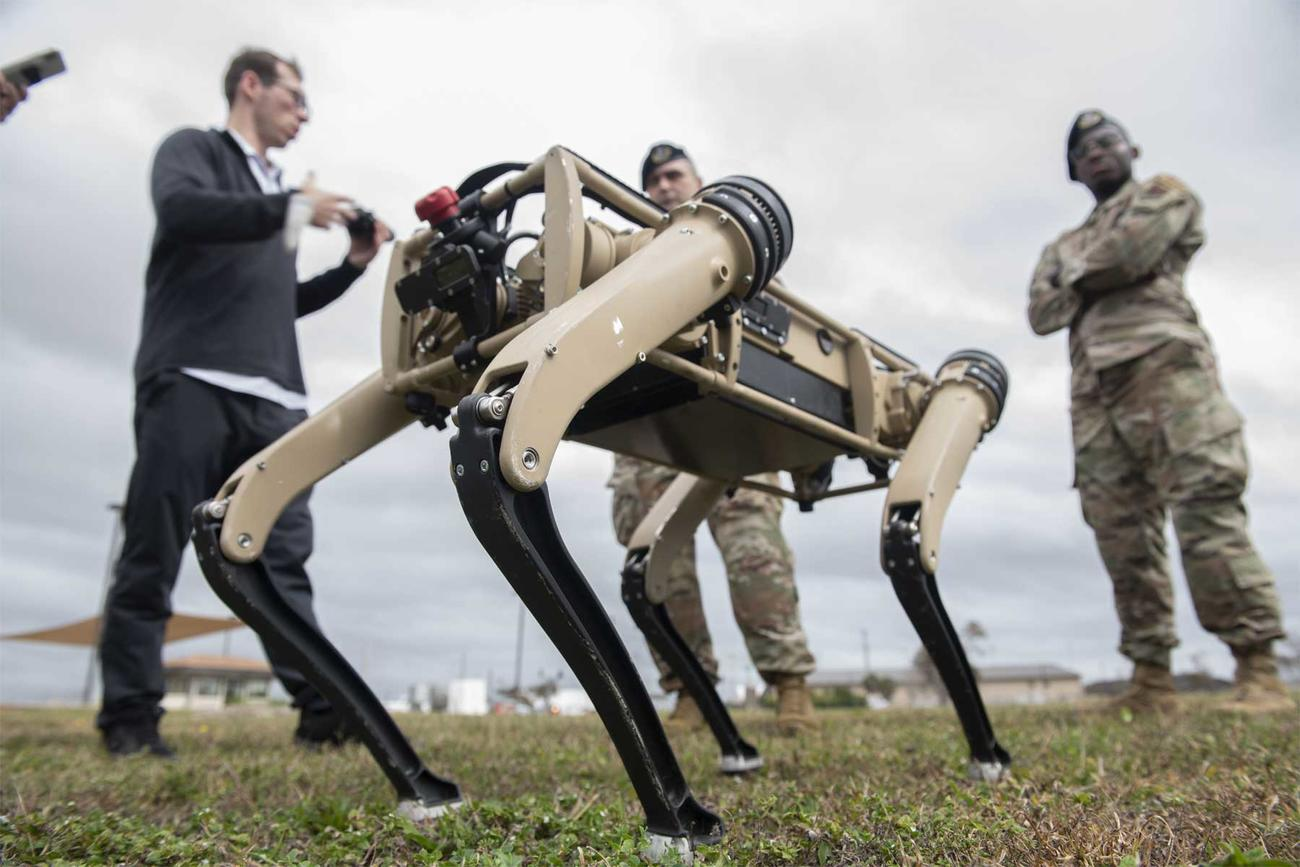 This Air Force Unit Is Getting the Military's First Robot Dogs