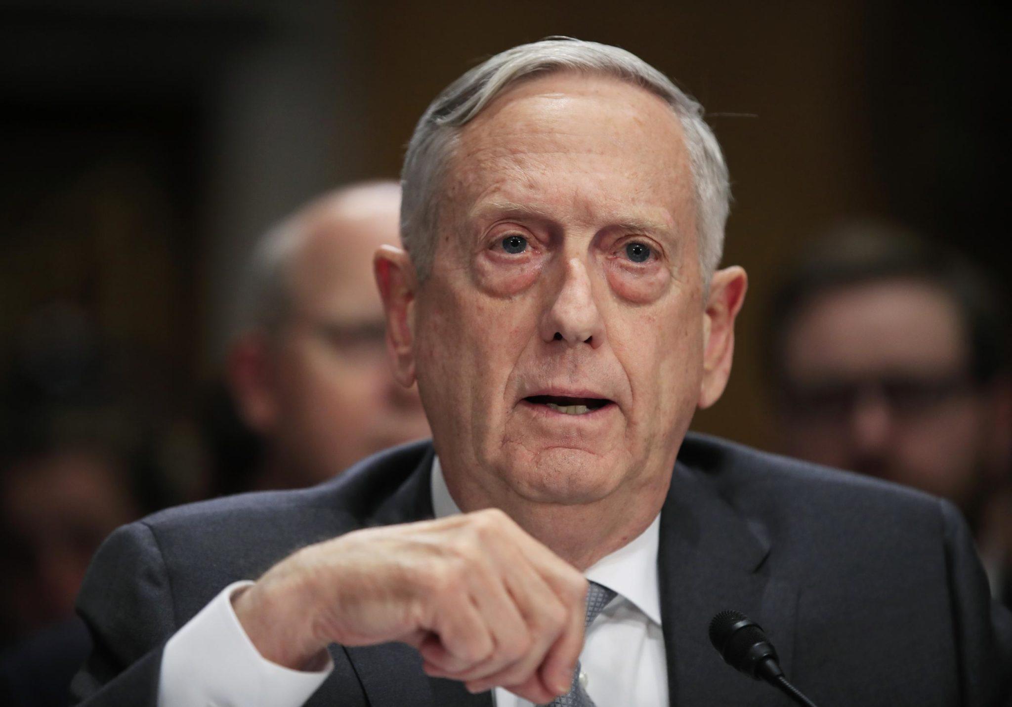Mattis: US Relations With China Not Worsening Despite Bumps