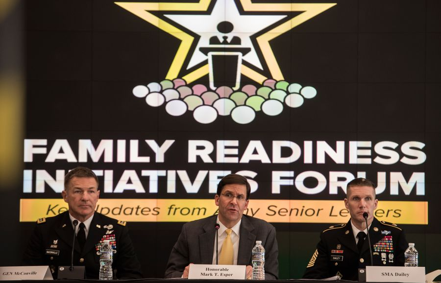 Army secretary seeks to help families through fewer moves, spouse job opportunities