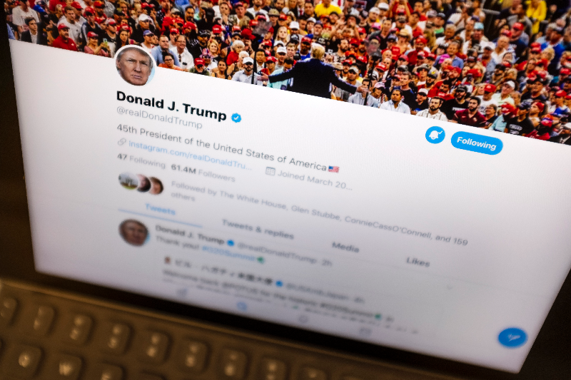 Politicians' Tweets Could Get Slapped With Warning Labels