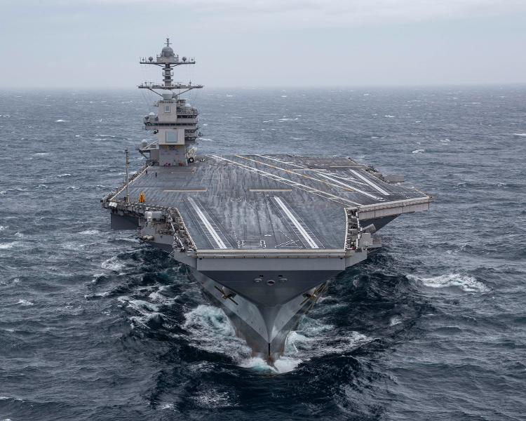 The USS Ford's Business Case Sinks As The Troubled Carrier Finishes Sea Trials
