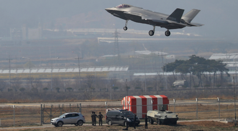 N. Korea Vows To Respond To S. Korea's Deployment Of F-35 Jets