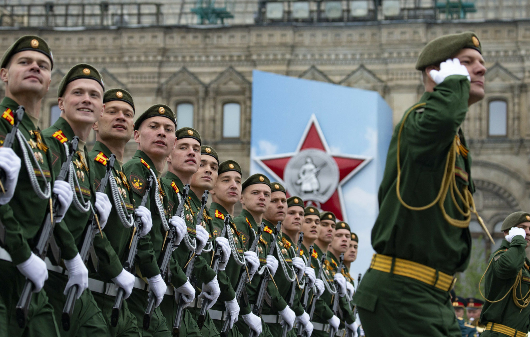 Putin on Victory Day: Russian military to be strengthened