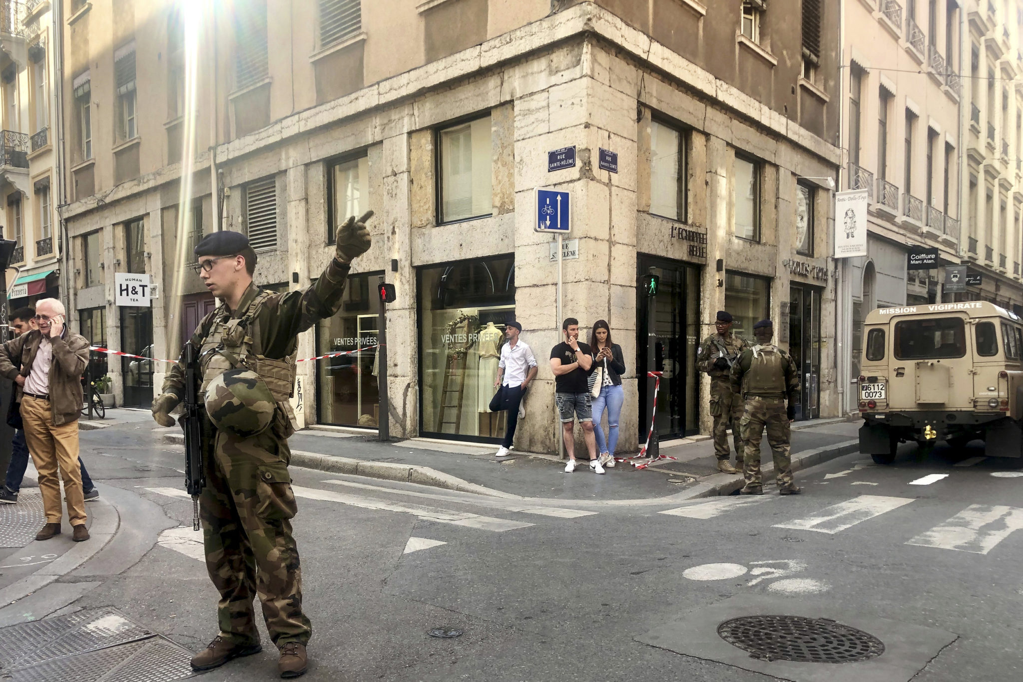 Terror Probe After 'Low Force' Blast in French City of Lyon
