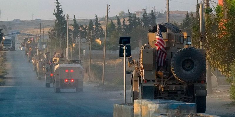 US Troops Start Pullout From Along Turkey's Border in Syria