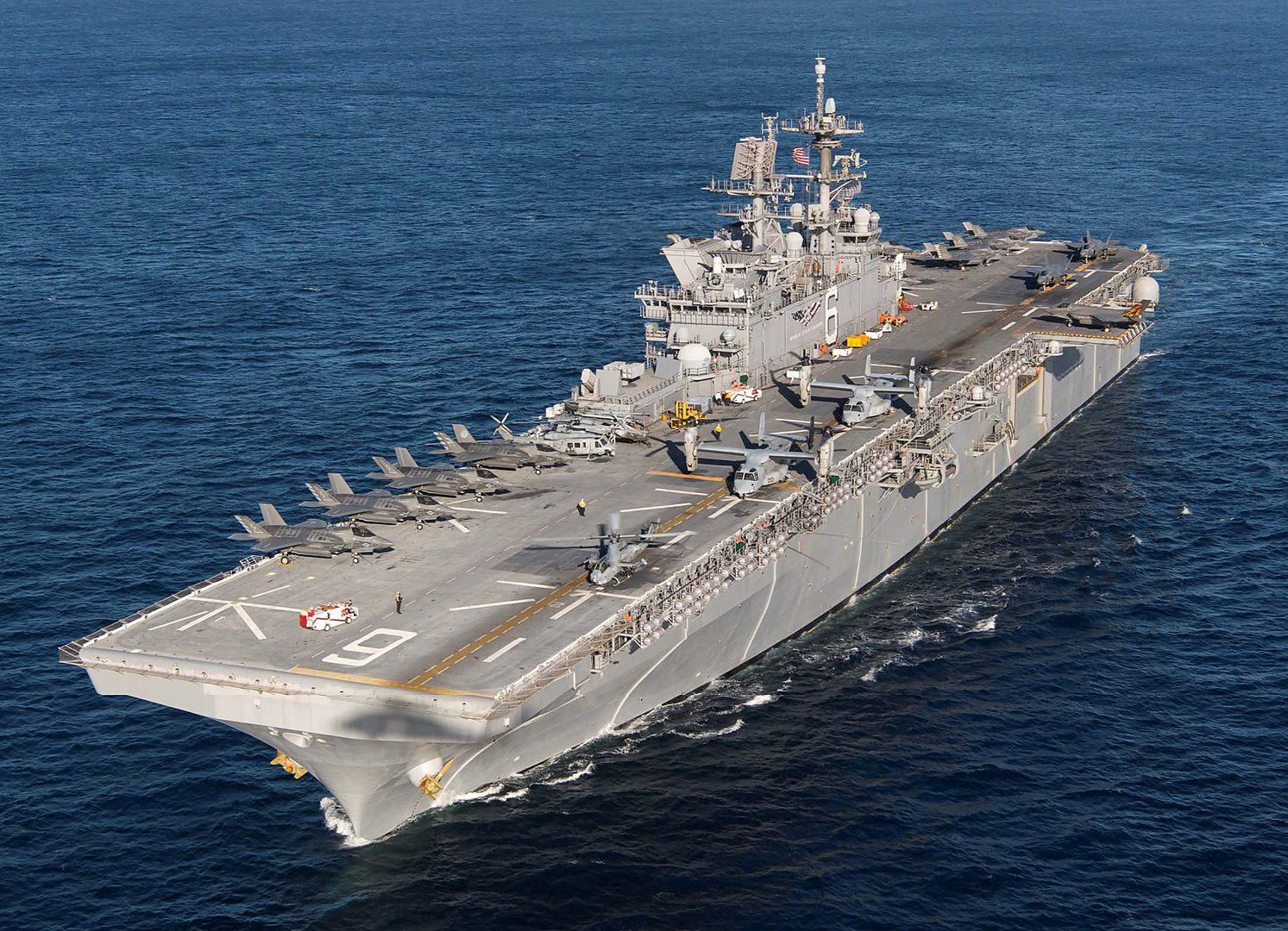 Why Secretary Esper's Call For Light Carriers Would Make The U.S. Navy Weaker