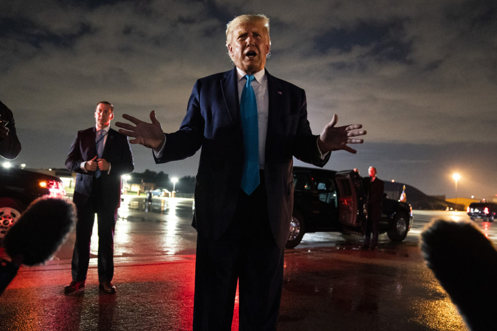 Trump denies calling US war dead 'losers,' 'suckers'