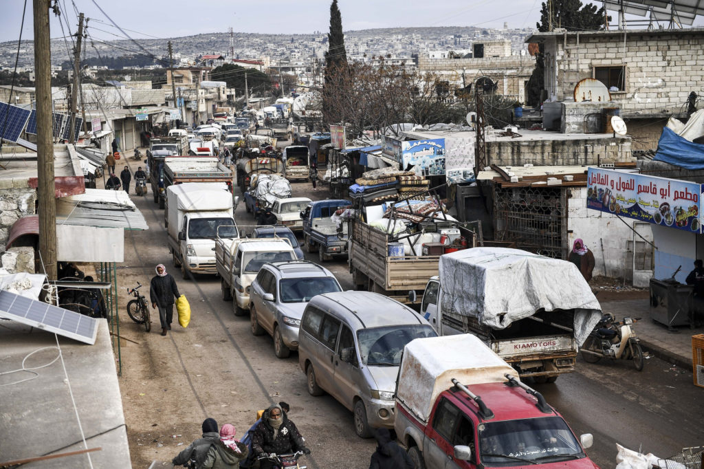 Rights group suspects Russia, Syria war crimes in Idlib