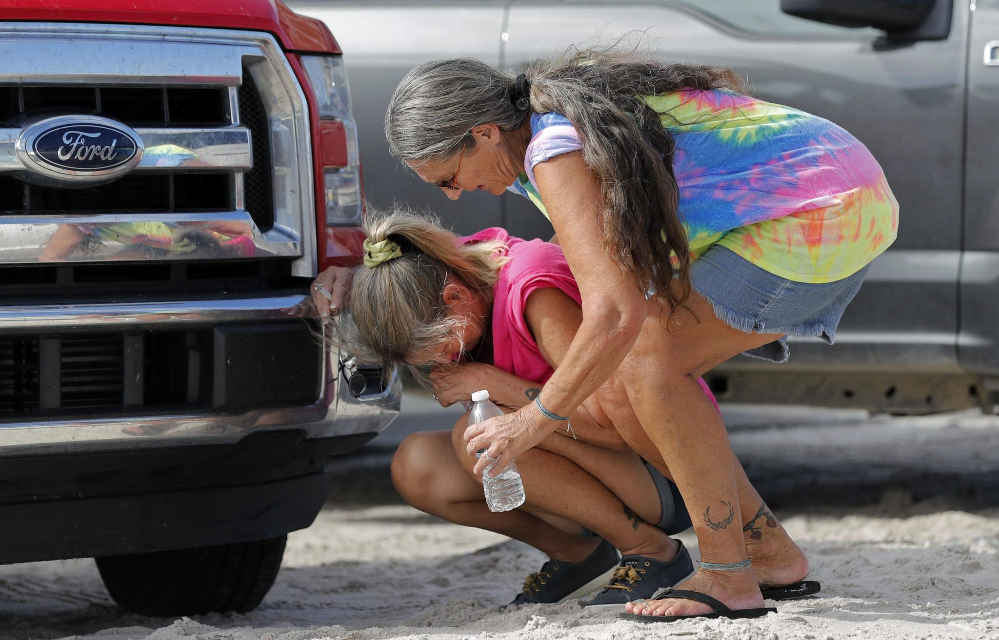 Tears Flow As Mexico Beach Residents Come Home After Michael