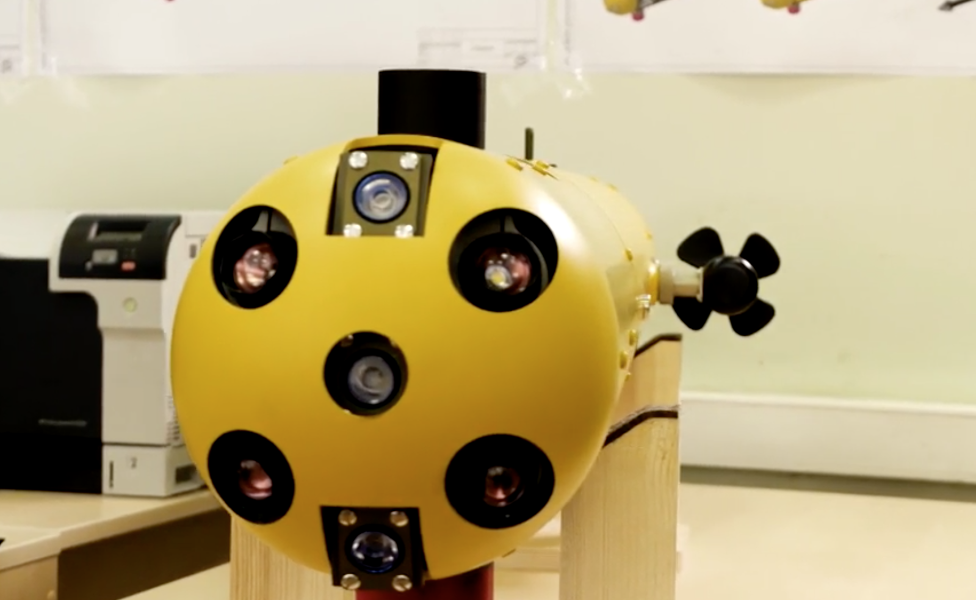 New Russian Robot Will Shoot Naval Mines With A Gun