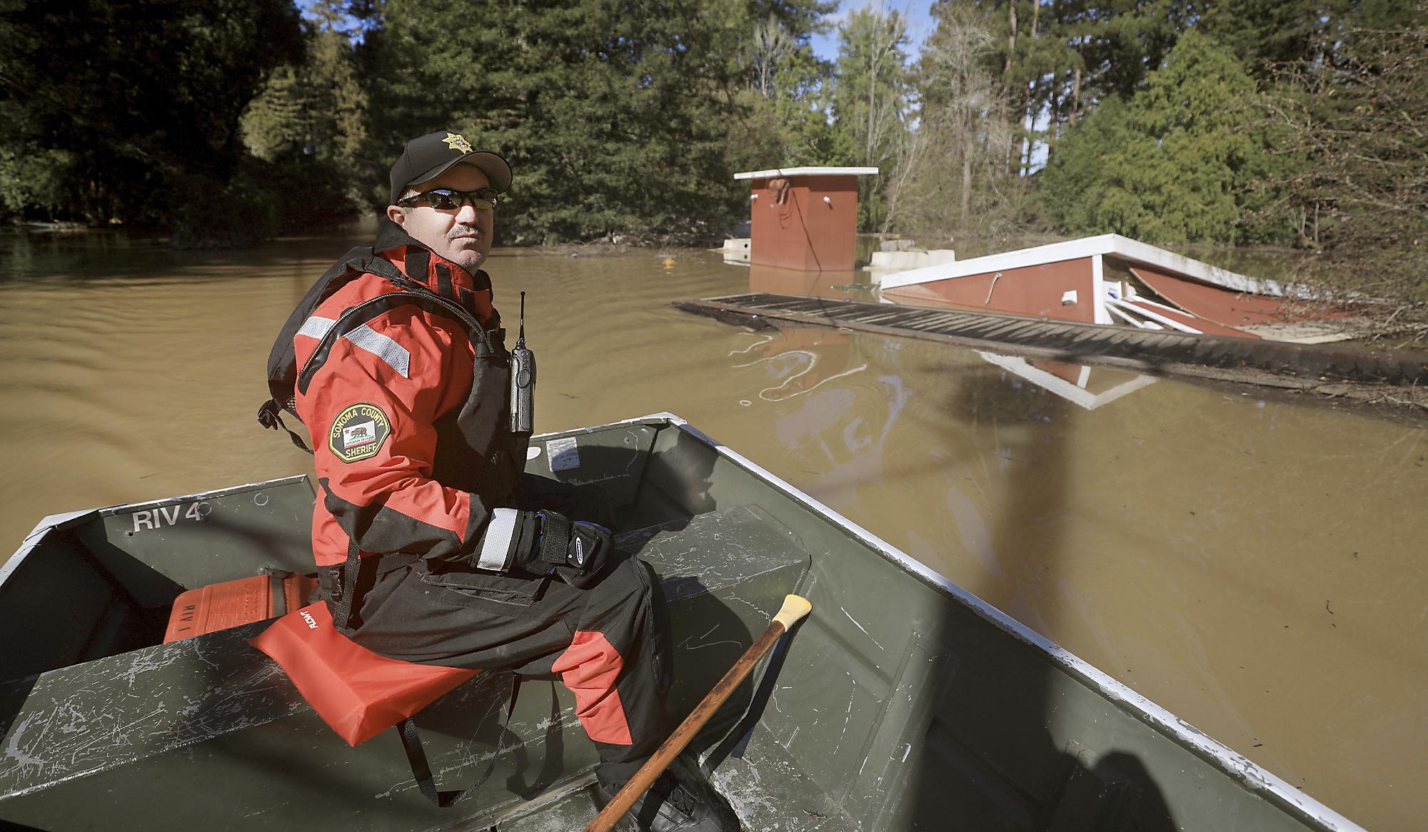 California Residents Survey Damage As Historic Floods Recede
