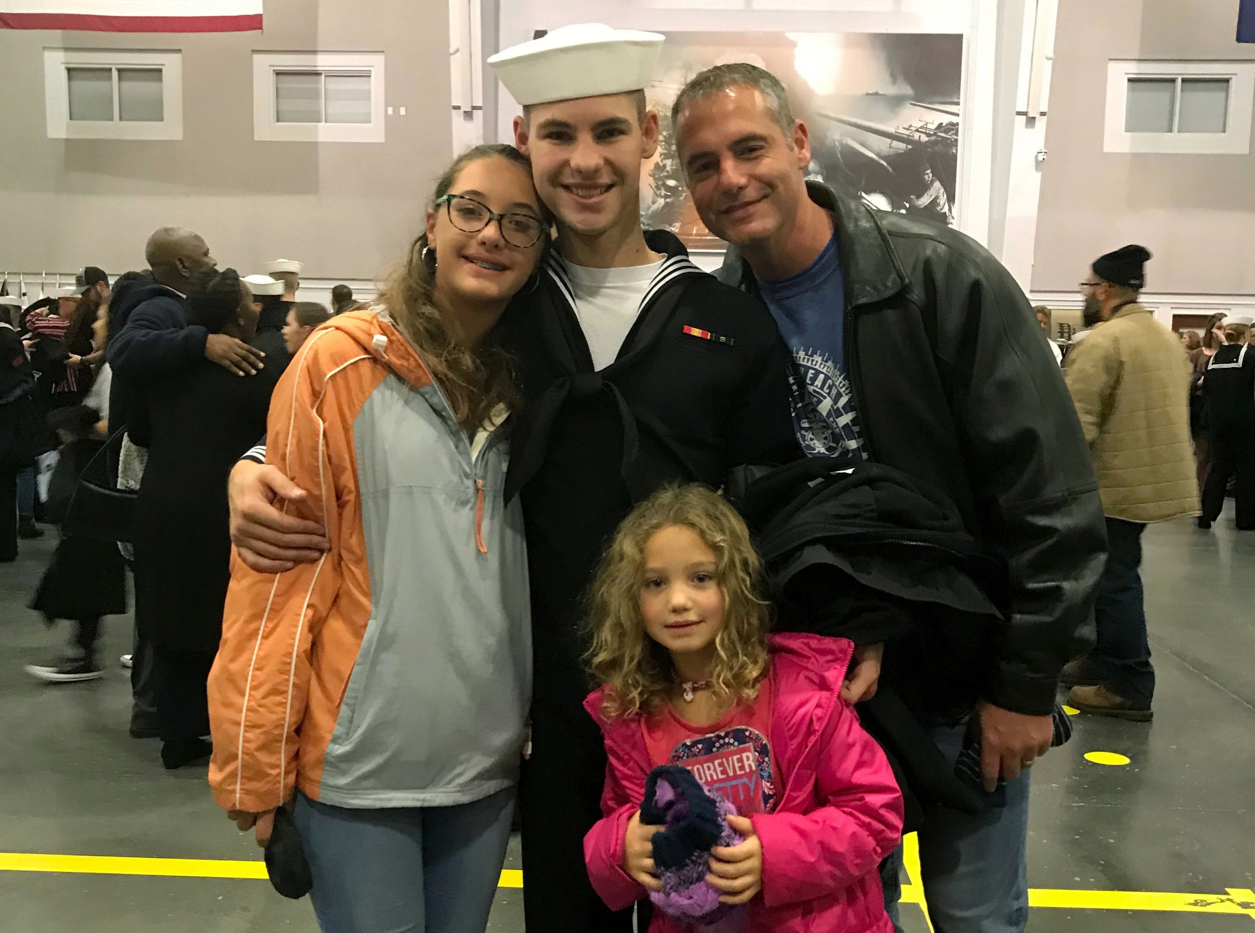 Father: Navy victim shot standing watch fresh from boot camp