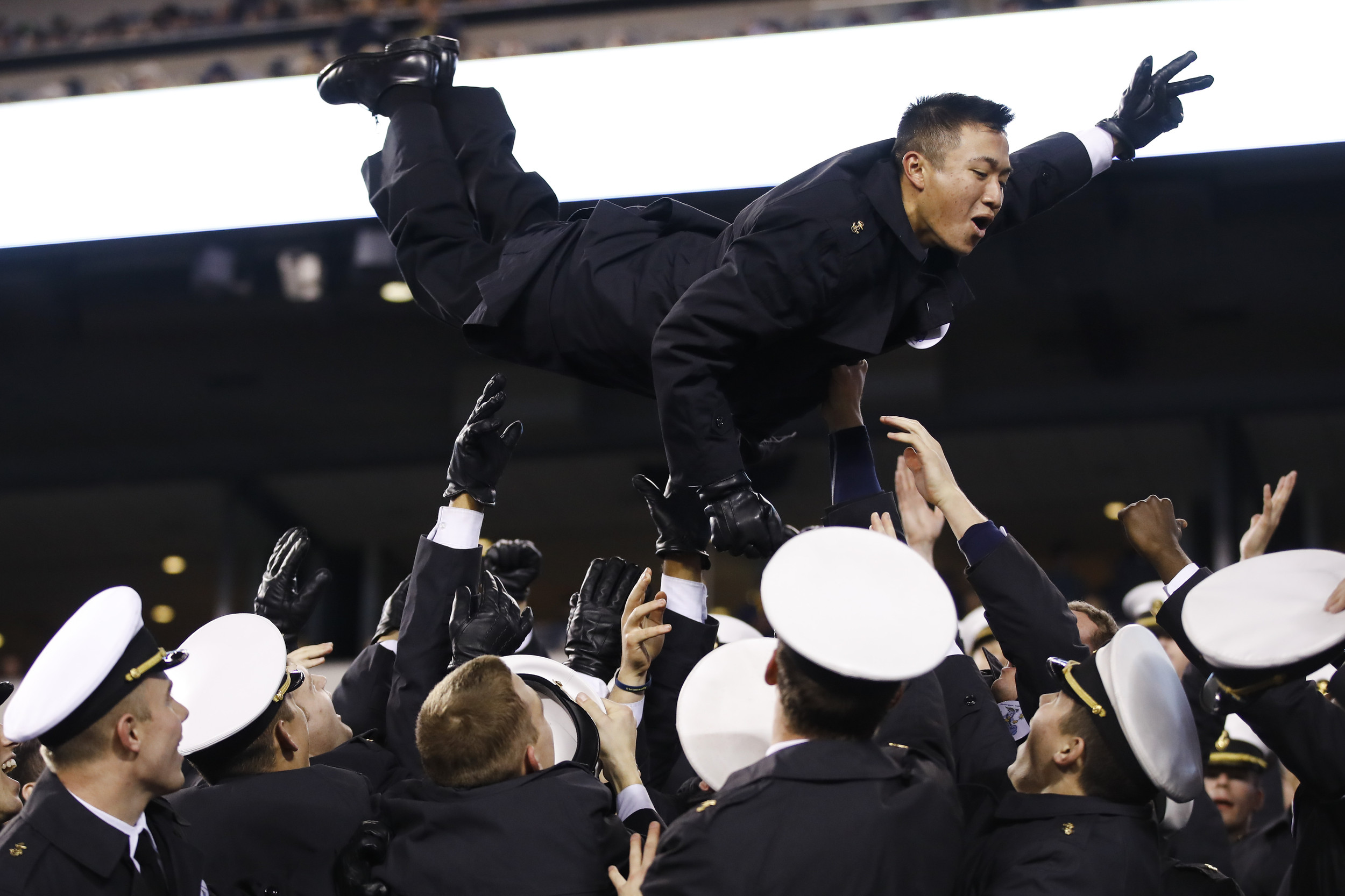 Hate Sign Or Silly Game? Military Academies Probe Hand Signs
