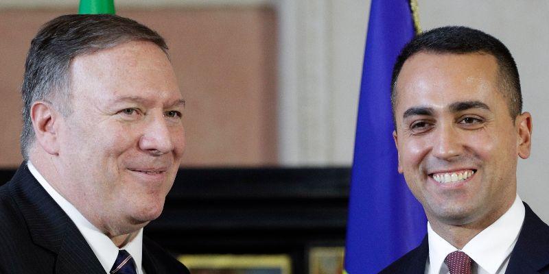 In Italy, Pompeo Can't Escape Washington Impeachment Furor