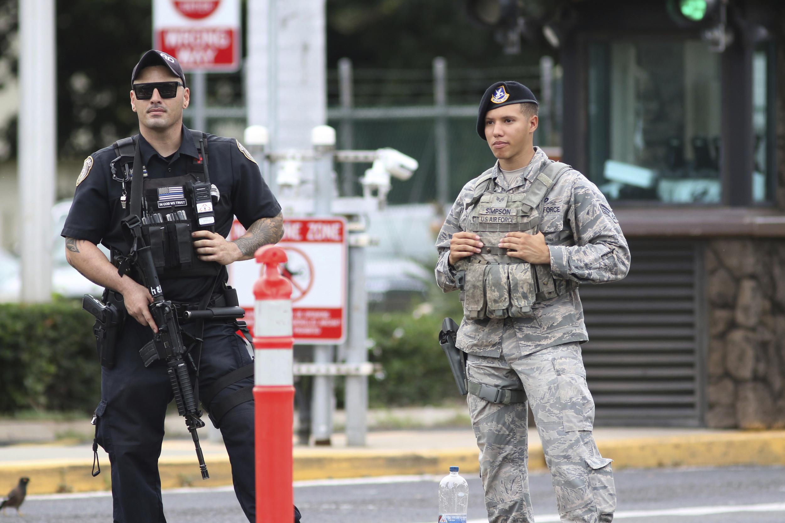 Sailor Kills 2 Civilians, Self At Pearl Harbor Shipyard