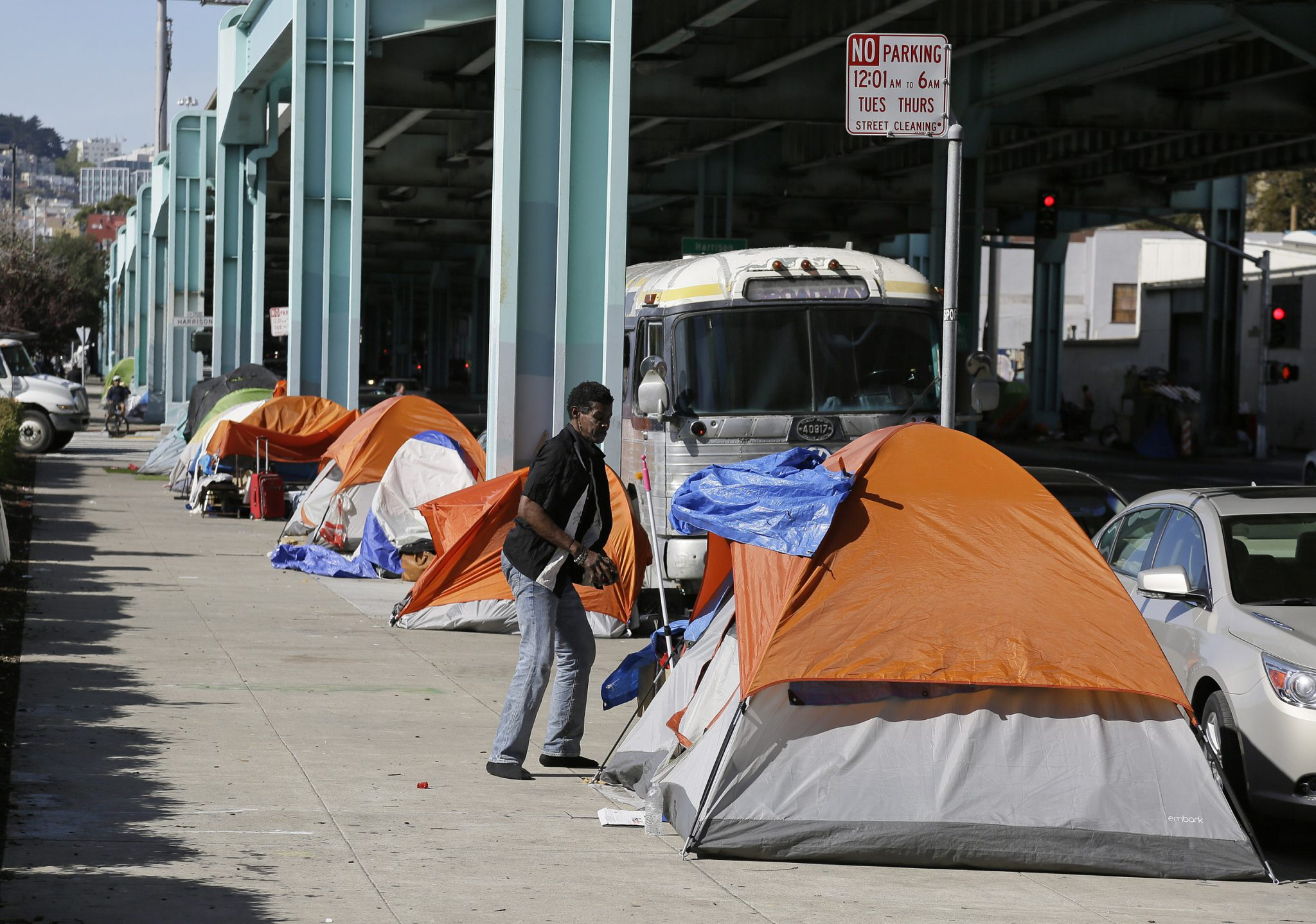 San Francisco Area Homeless Count Increases by Double Digits