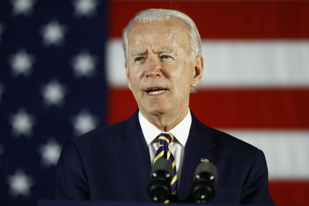 Biden seizes on Bolton book to hit Trump's record on China