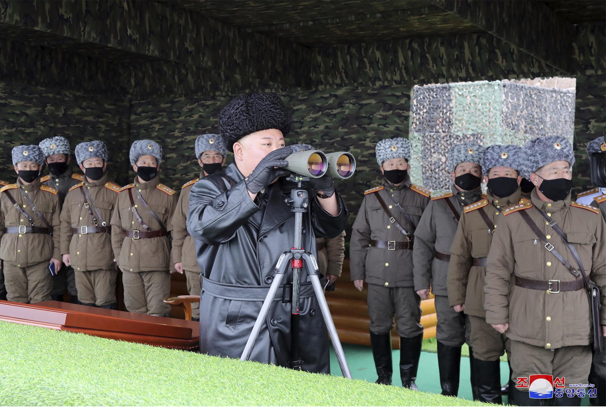 North Korea fires presumed short-range missiles into the sea