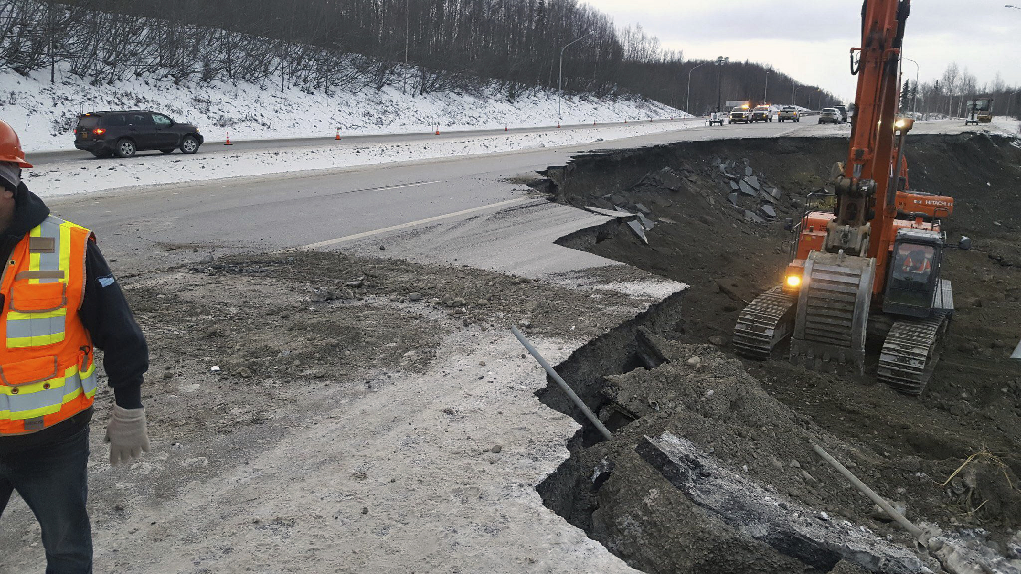 Alaska Putting Together Pieces After Massive Earthquake