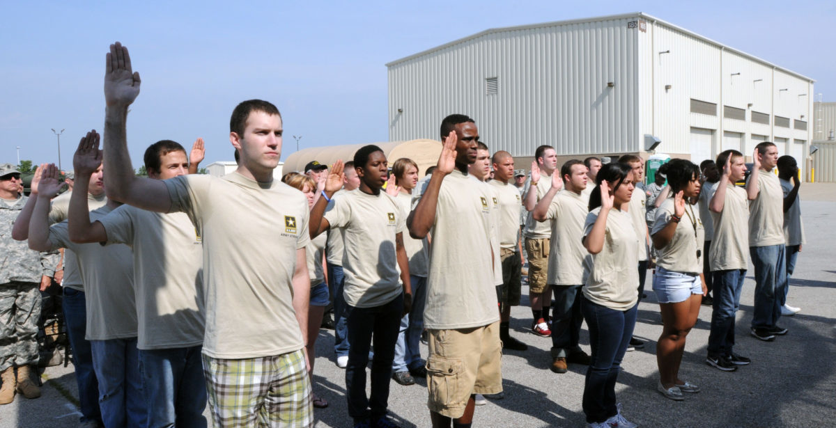 Army wraps up three-day push to 'hire' 10,000 new soldiers amid coronavirus pandemic