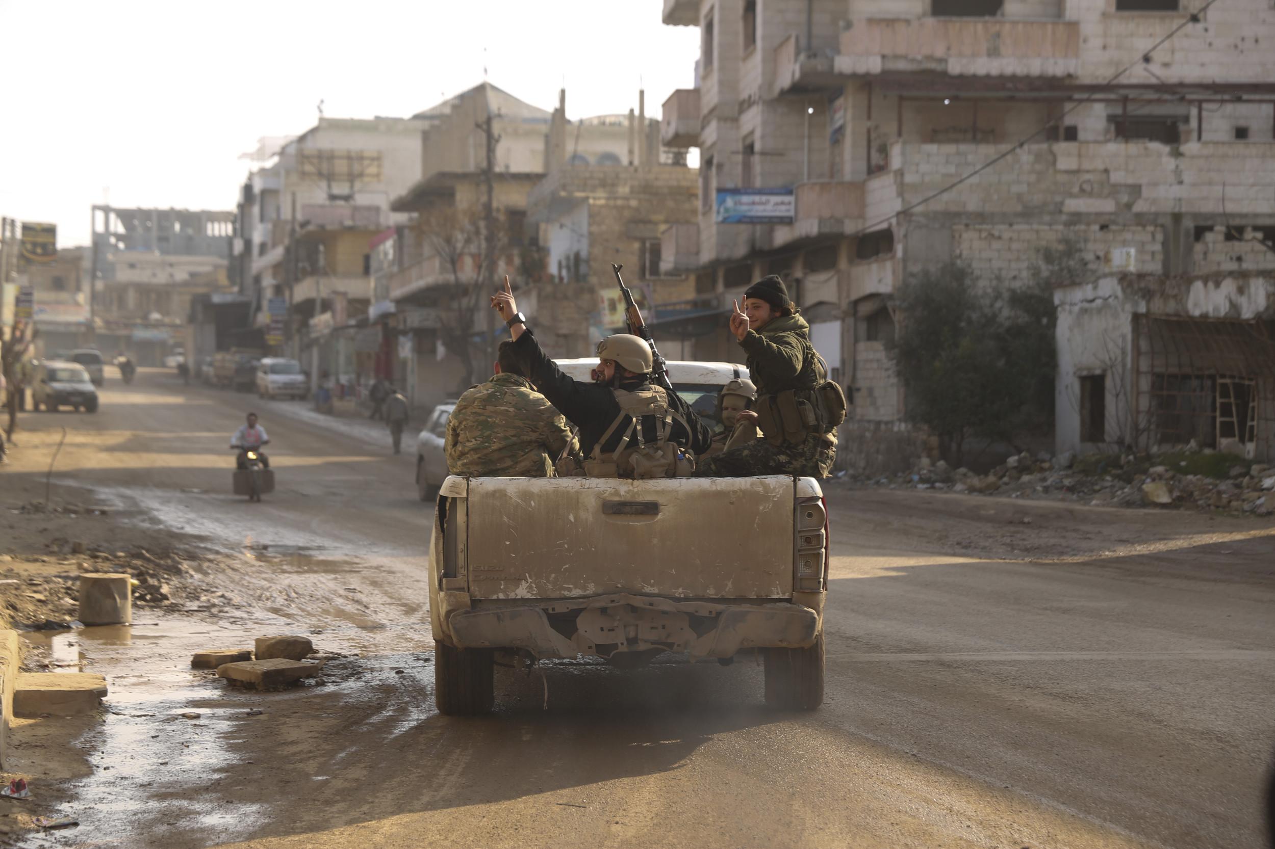 Turkey Sends More Troops, Tanks To Syria Amid Idlib Assault