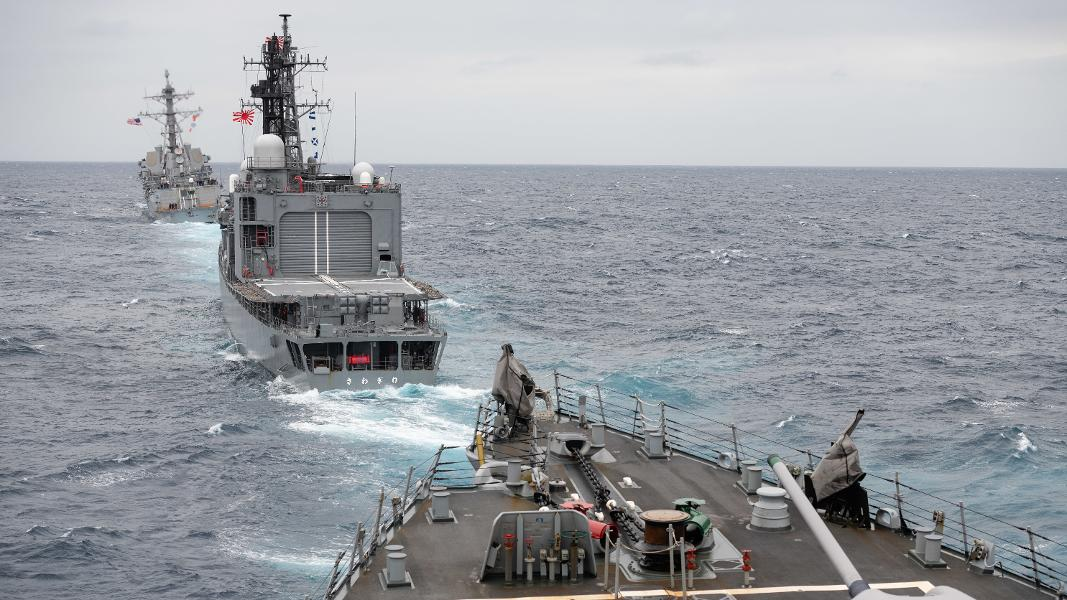 The Chinese Navy Now Outguns Japan's Own Fleet, But Don't Panic Quite Yet