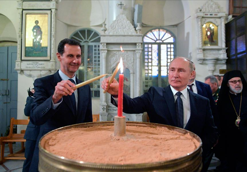 Putin's Visits To Syria, Turkey Show Russia's Military And Energy Might