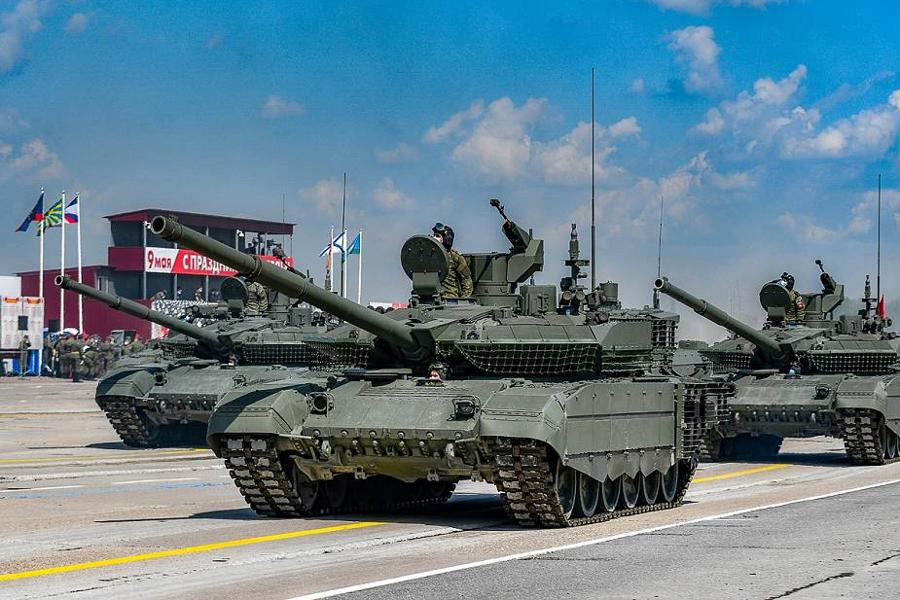 Russia Parades New Tanks, Flamethrowers, Drone-Swatters, Mine-Zappers And More