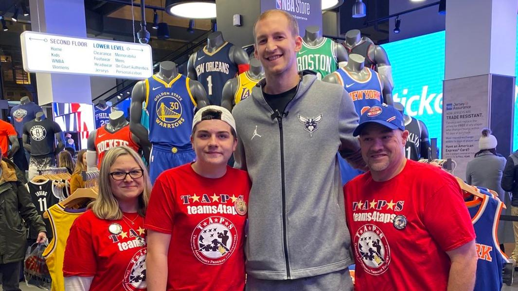 How The NBA And TAPS Help Military Families Deal With Tragedy