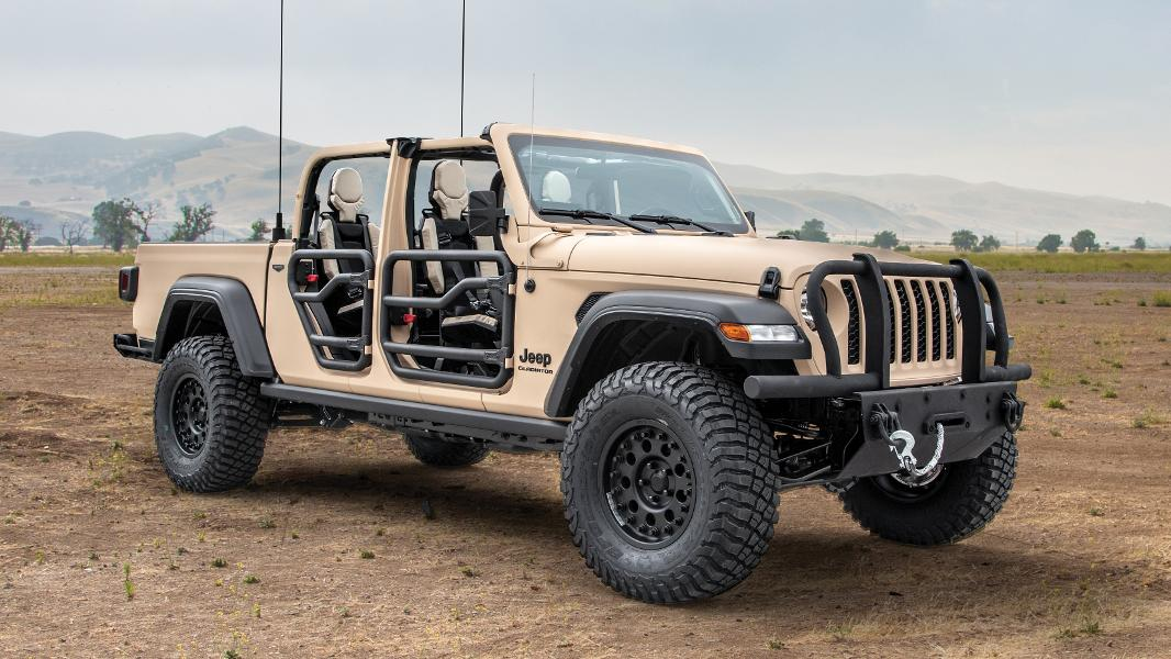 Militarized Jeep Gladiator Is A True Road Warrior