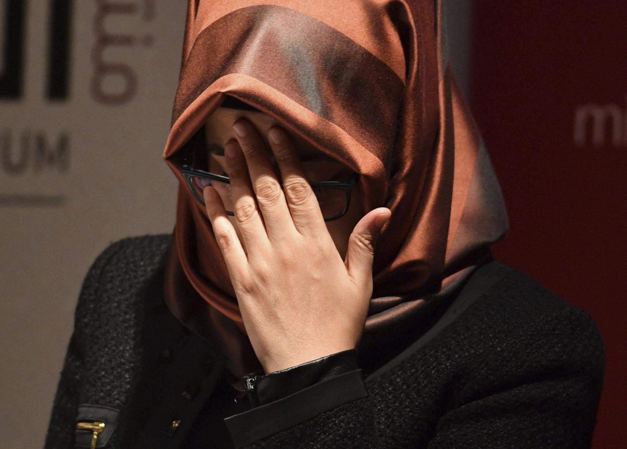 Khashoggi's Fiancee Calls On Trump To Prevent 'Cover-Up'