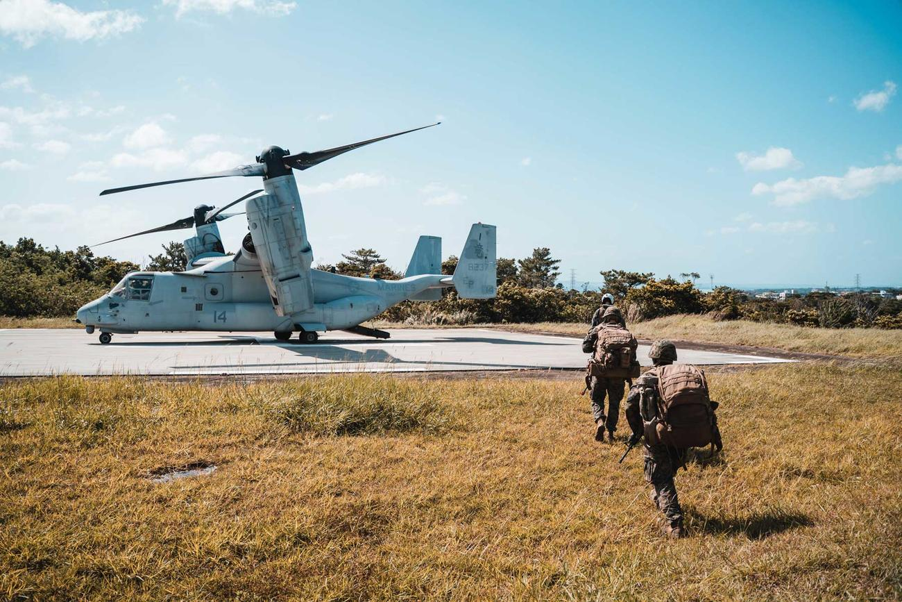 Marines Hop Islands, Set Up Long-Range Fires as Force Preps for Clash with China