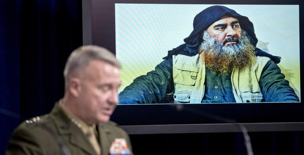 Pentagon Releases New Details On Al-Baghdadi Raid