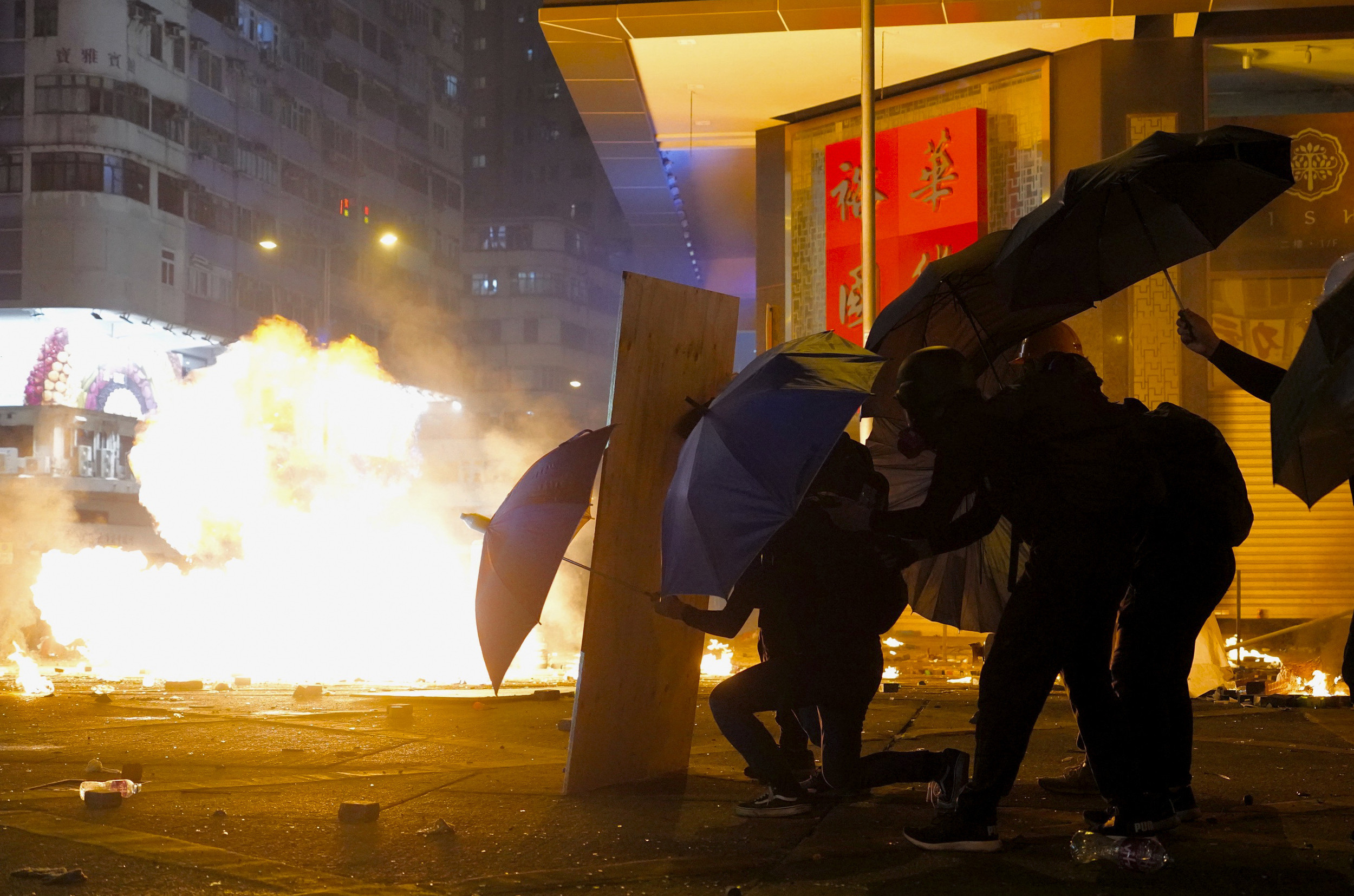 Campus Under Siege As Hong Kong Police Battle Protesters